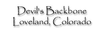 Devil's Backbone, Loveland, Colorado